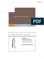 A. Macrocíticas 2012