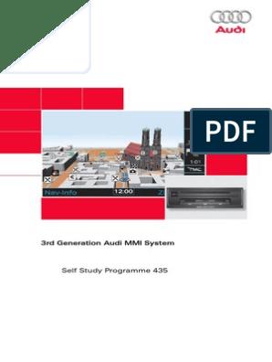 Audi MMI 3G - Self Study Programme 435 | Radio | Secure Digital