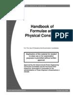 Hand Book of Formulae