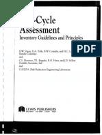 LCA Invetory,Guidelines