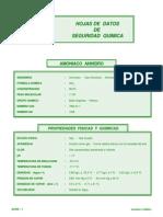 Amoníaco - Gas Amoníaco - Amoníaco Anhidro Líquido.