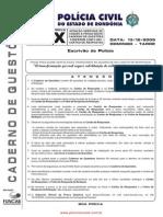 M05 - Escrivão de Polícia X