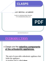 CLASPS 1 / orthodontic courses by Indian dental academy