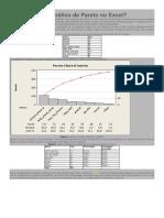 Como Fazer Um Gráfico de Pareto No Excel