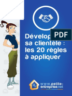Guide Developper Sa Clientele 20 Regles a Appliquer 2014