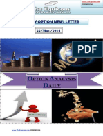 Daily Option News Letter 22 May 2014