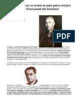Un Document Care Ar Trebui Să Pună Punct Oricărei Discuții Despre Holocaustul Din România