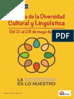 Programa Semana de la Diversidad Cultural y Lingüística