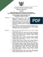 Perda.10.2012 Ttg Jalan Umum Dan Khusus Batubara Dan Kelapa Sawit Baru