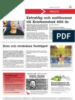 140521_ Extratåg Och Nattbussar Till Kristianstad 400 År