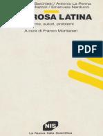 A Cura Di Franco Montanari-La Prosa Latina-La Nuova Italia Scientifica (1991) (1)