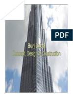 Burj Dubai Concept Design and Construction Presentation