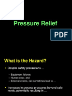Pressure Relief Safety Valves