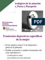 Trastornos Psicologicos Embarazo, Parto y Puerperio