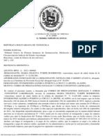 Tsj Regiones - Decisión Cobro de Prestaciones Sociales y Otros Conceptos Laborales