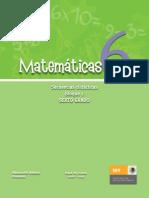Secuencia Bloque 1 Matemáticas