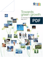 Towards Green Growth. A summary for policy makers