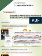 Medidas de Prevencion - Señalizacion