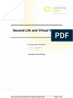 052. Second Life Virtual World