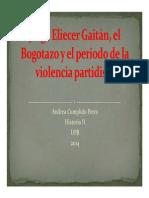 Unidad 5 Jorge Eliécer Gaitán - Andrea Cumplido Petro