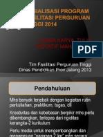 Sosialisasi LKTI 2014