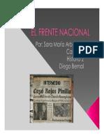 Unidad 5 El Frente Nacional - Sara María Arboleda