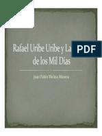 Unidad 5 Guerra de Los Mil Días - Juan Pablo Molina