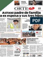 Periódico Norte edición impresa del día 22 de mayo del 2014