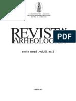Revista Arheologică, SN, Vol. IX, nr. 2. 2013