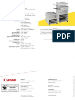 Canon Gp160 Brochure