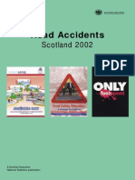Scotland Road Accident Stats 2002