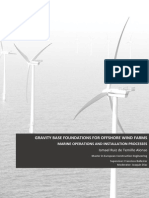 1. Gravity Based Foundations for Offshore Wind Farms