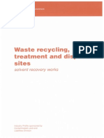Waste Solvent Treatment