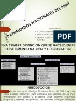 Patrimonios Nacionales Del Perú