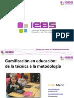 Gamificación en educación
