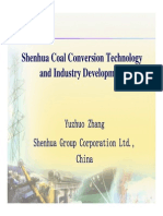 Shenhua Coal Conversion Development