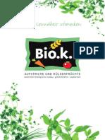 BIOk Produktkatalog Online