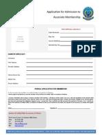 Icpap Membership Form
