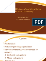 PTR Wettability reservoar