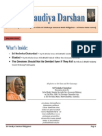 Sri Gaudiya Darshan Philippines - May 2014 Issue