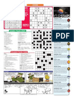 Correct Sudoko and puzzle page May 22