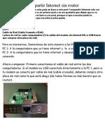 Conectar 2 Compus Con Cable de Red