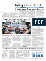 The Daily Tar Heel Weekly Summer Edition for May 22, 2014