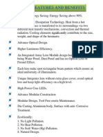 Features of 25 W Street Light