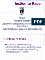 Introduction to Radar