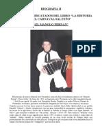 Manolo Fernan - Biografia II