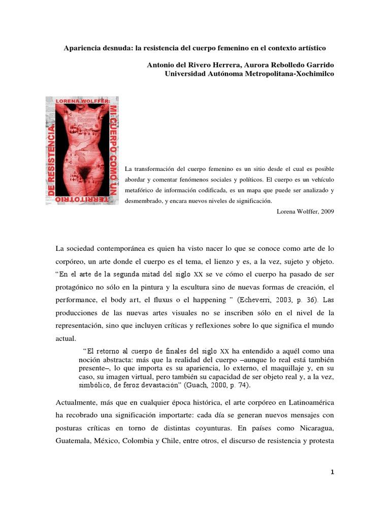 Resistencia Del Cuerpo Femenino-libre
