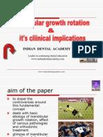 Mandibular Growth Rotation (2) / orthodontic courses by Indian dental academy