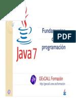 1 1.Java Fundamentos e Intro