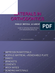 Materials in Orthodontics / orthodontic courses by Indian dental academy